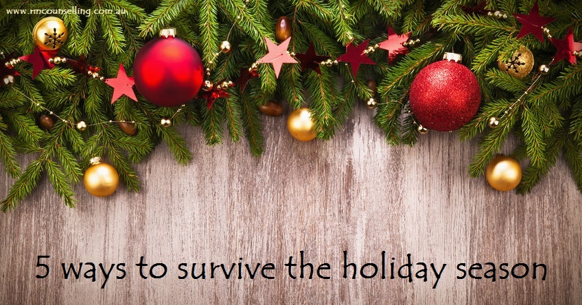 5 ways to survive the holiday season
